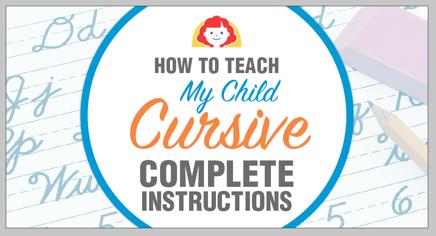 How-to-teach-my-child-cursive